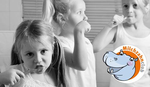 Speziell für Kinder - der Milchzahnclub