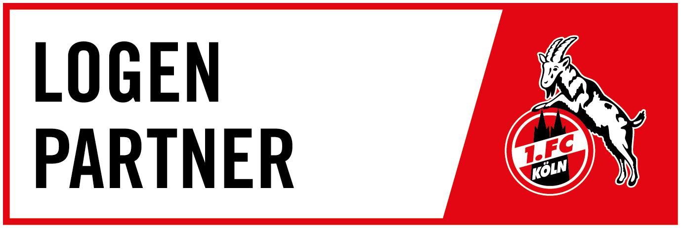 Logo Logenpartner 1. FC Köln